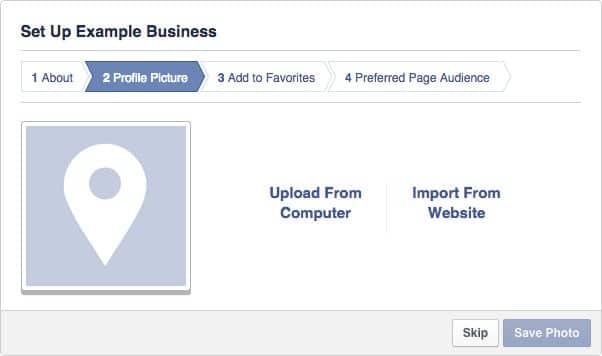 Facebook Business Page Setup - Step #2.1