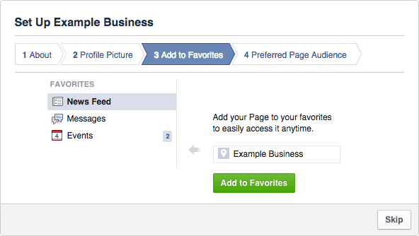 Facebook Business Page Setup - Step #2.3